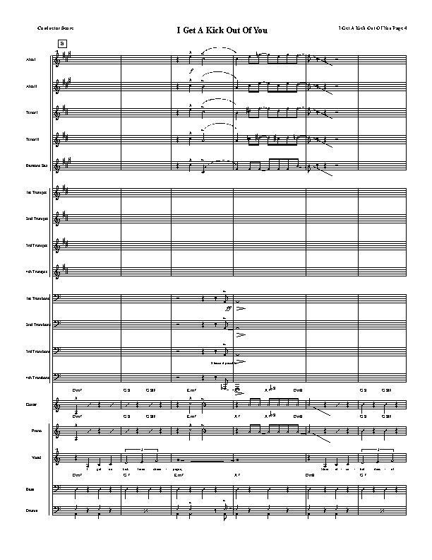 i ge a kick outnof you sheet music pdf
