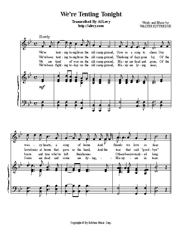 To order the sheet music or the complete midi file click here  sc 1 th 255 & tent.jpg